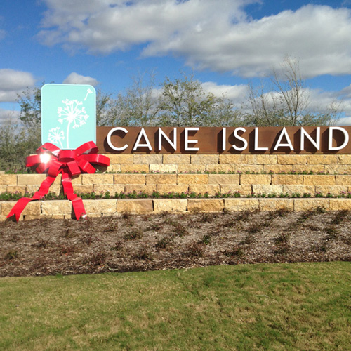 Cane Island Red Bow